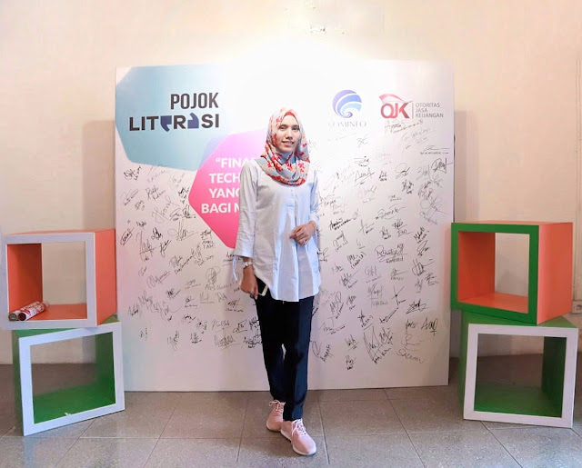 Mengenal Financial Technology yang Ramah bagi Millenial bersama Pojok Literasi Medan