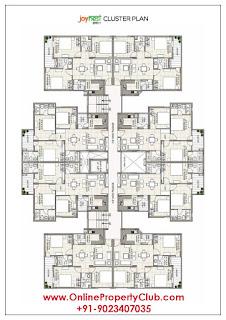 Sushma Joynest Zirakpur, 3BHK Flats