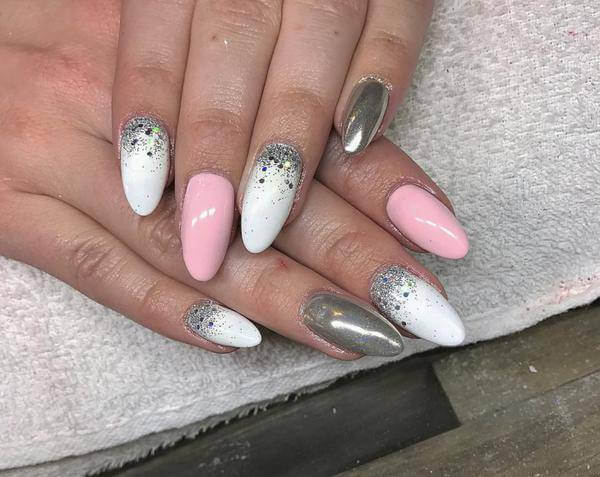 Pule, Mylar Nails Art ,Ideas For 2017