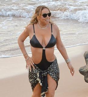 Mariah Carey Nipple Slip