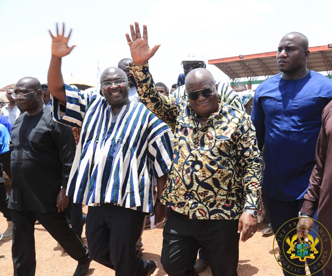 President Akufo-Addo Cuts Sod For Tamale Interchange; Launches $2 Billion Sinohydro Deal