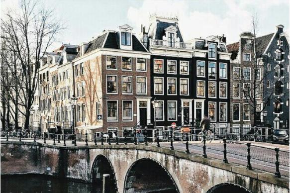 Op kamers in Amsterdam