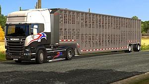 Wilson Livestock Multi Axles standalone trailer
