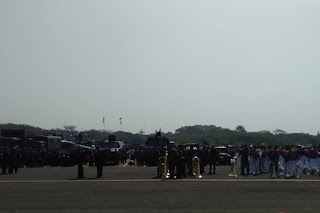 Berbagai Atraksi Meriahkan HUT Ke-74 TNI