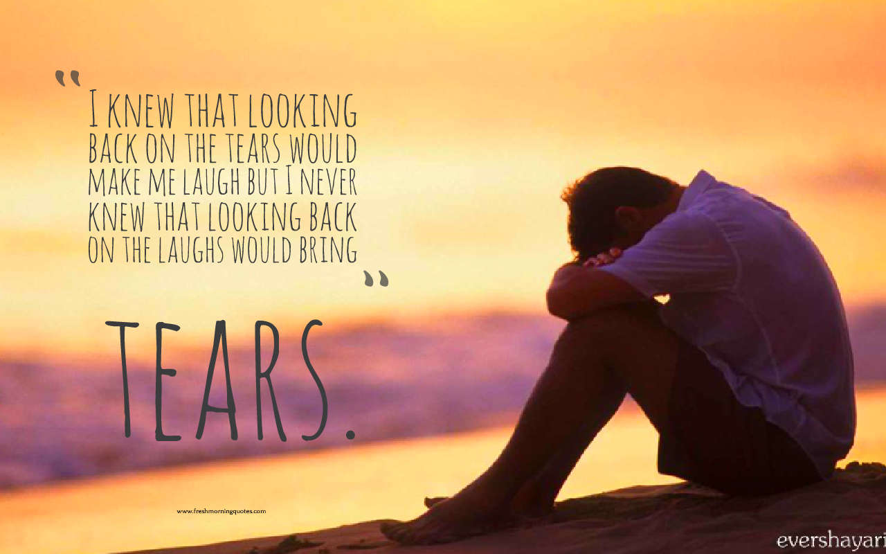 looking back on the years sad love quotes