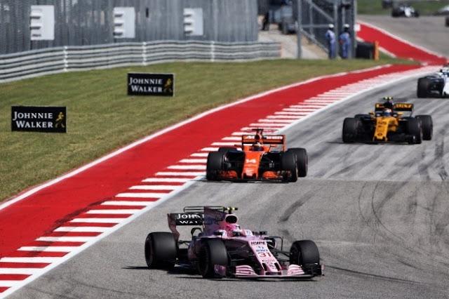 Force India reconhece McLaren e Renault como grandes ameaças