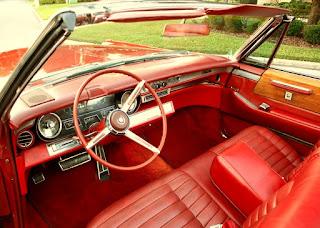 1966 Cadillac Eldorado Coupe Convertible Interior
