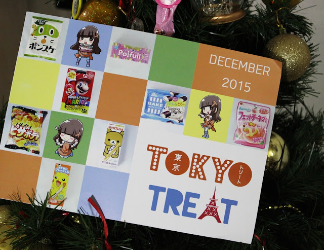 TokyoTreat, Unboxing December 2015