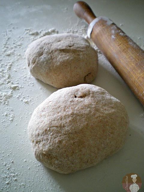 Börek con harina de espelta: masa de harina de espelta