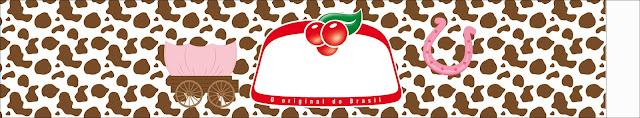 Vaquerita Morena: Etiquetas para Candy Bar para Imprimir Gratis.