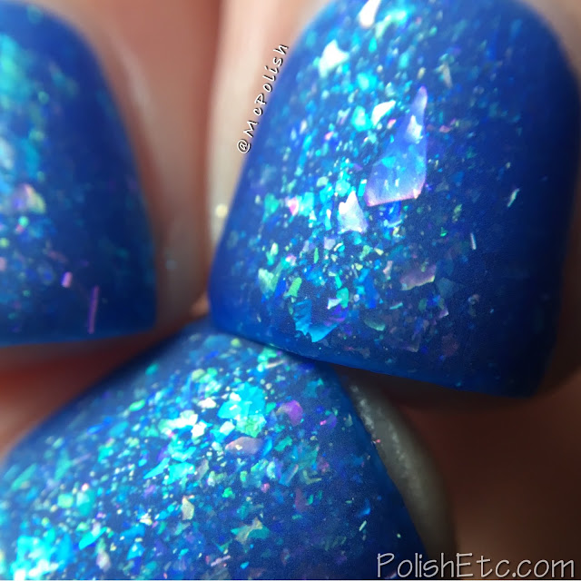 Ever After Polish - Flake It Up Collection - McPolish - Blue Hawaiian
