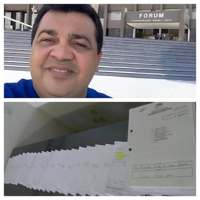 """""""Documentos de indícios de desvio de verbas públicas de políticos do Maranhão prontos à Sérgio Moro"""", anuncia Hosaías Desidério"""