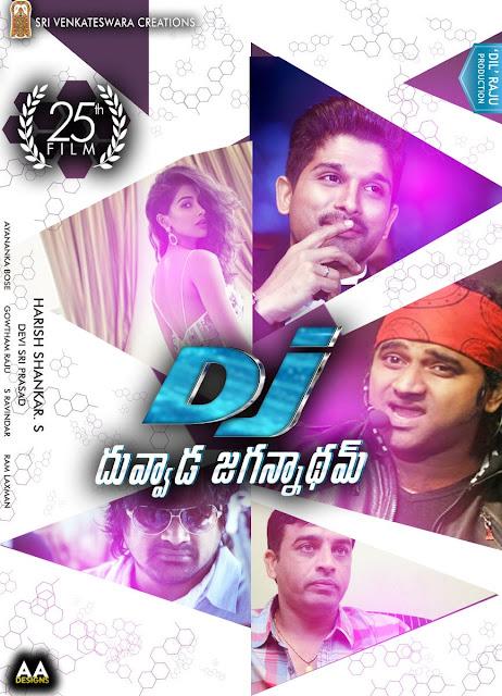 Duvvada Jagannadham New poster