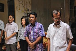 Kunjungan DPH ke WIlayah Yohanes Pemandi - Lingkungan YP5