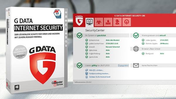 تحميل برنامج الحماية 2017 G DATA Internet Security