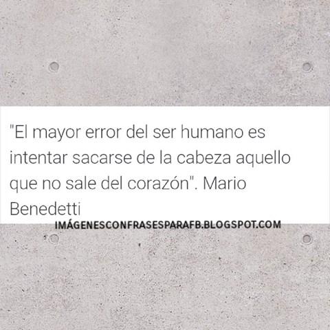 Frase de Mario Benedetti