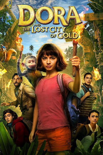 Poster of Dora and the Lost City of Gold (2019) Full Movie [English-DD5.1] 720p BluRay ESubs Download