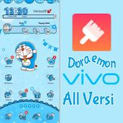 Doraemon Blue Tema Keren untuk Vivo