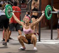 Weightlifting women calves