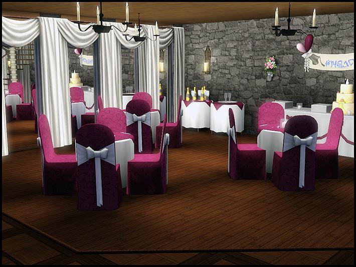 Lily's Sim Antics: * St Ursine's Wedding Chapel