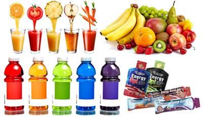 Alimentos y bebidas que puedes consumir durante tu sesión de entrenamiento