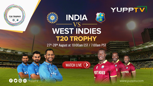 Ind vs WI T20 Live