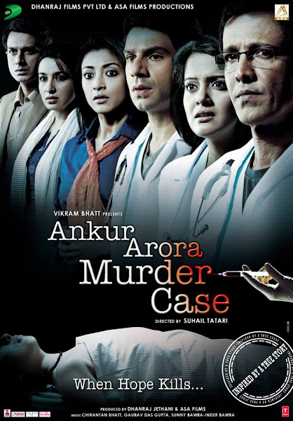 Poster of Ankur Arora Murder Case 2013 Full Movie [Hindi-DD5.1] 720p HDRip ESubs Download