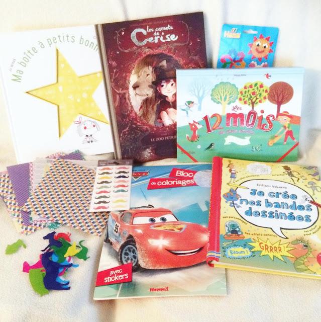 > Ma boite à petits bonheurs  > Les carnets de Cerise  > Les 12 mois de mon année  > Je crée mes bandes dessinées