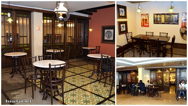 Comfortable decor and environment of Coriander Leaf Restaurant