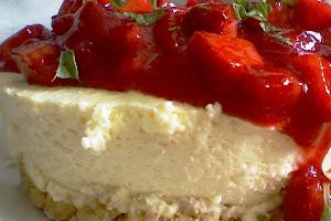 Receta fácil de Postre frío de fresa y queso【6 Pasos】