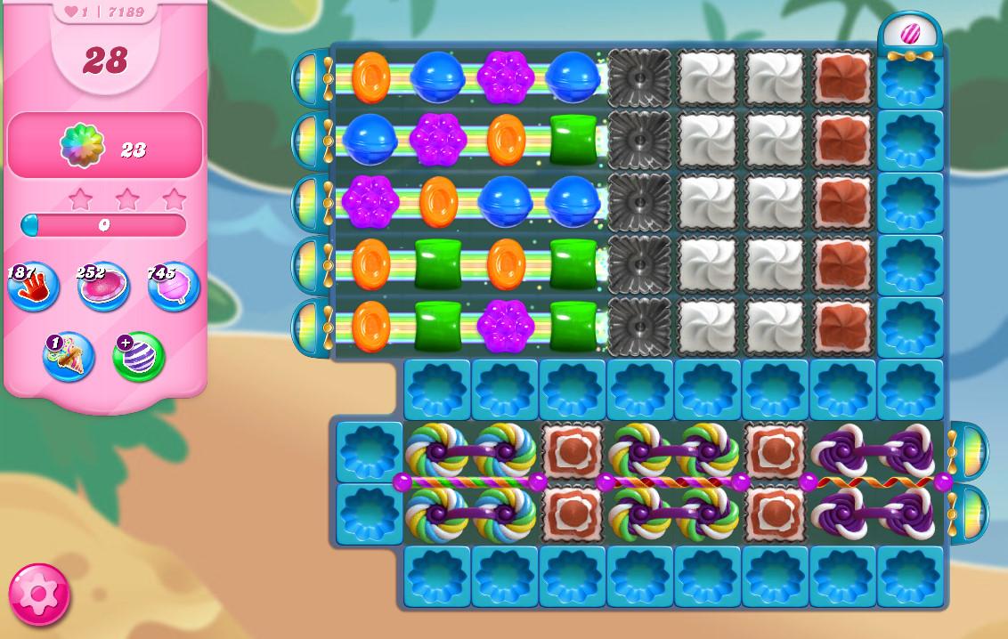 Candy Crush Saga level 7189