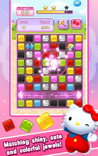 Hello Kitty Jewel Town - Game Puzzle Android Untuk anak-anak
