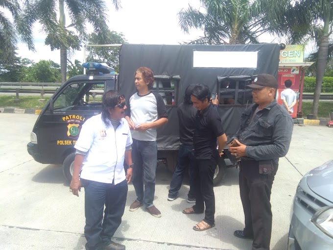 Citra Bhayangkara Polsek Tambora Subsektor Duri Utara Kirim Bantuan Untuk Korban Tsunami Pandeglang Banten