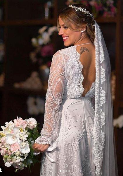 Camilla Camargo noiva