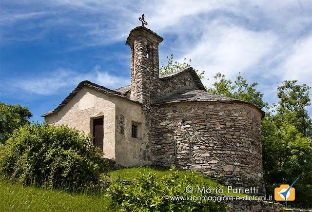 Alpe san Michele chiesetta romanica