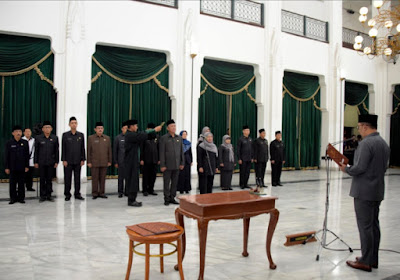 Gubernur Jabar Ridwan Kamil Lantik 14 Pejabat Eselon II Pemprov Jabar