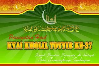 Informasi Haul Kyai Kholil Thoyyib ke -37