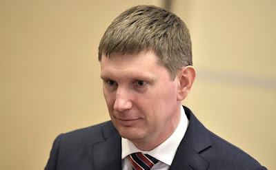 Maxim Reshetnikov in Kremlin.