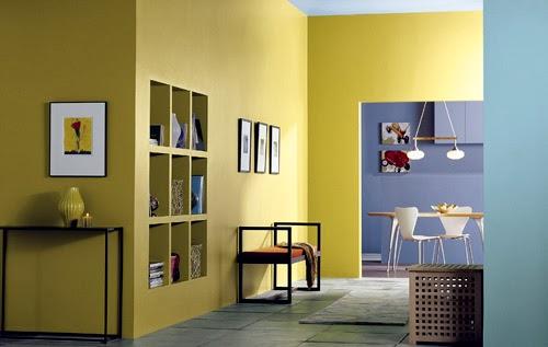 Warna Cat Bagian Dalam untuk Rumah Minimalis Desain