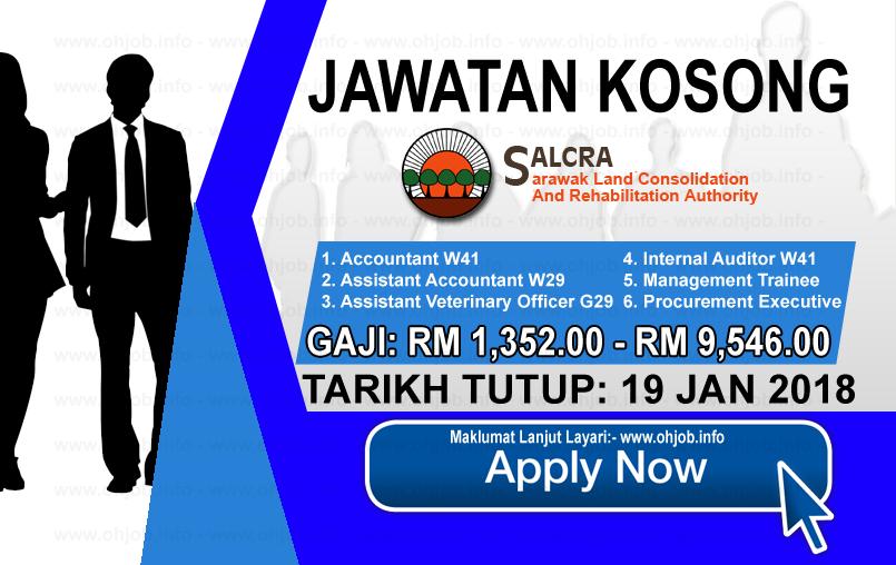 Jawatan Kerja Kosong SALCRA logo www.ohjob.info januari 2018