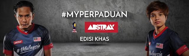 JERSI EDISI KHAS  1MALAYSIA-ABSTRAX #MYPERPADUAN KINI DI PASARAN