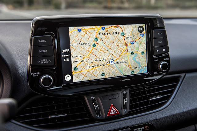 Novo Hyundai i30 2018 - sistema de navegação