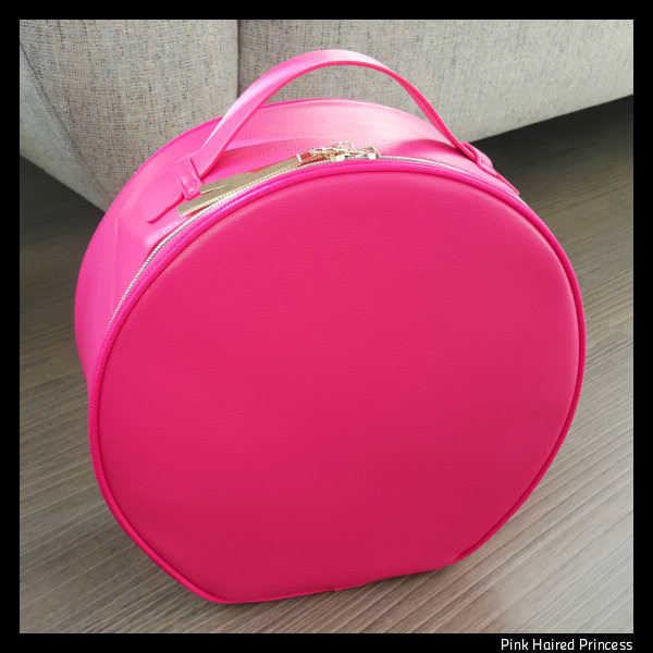 lancome pink vanity case