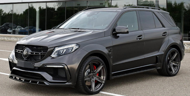 Carbon Gray Mercedes-AMG GLE 63 S Inferno Is A $245,000 Affair