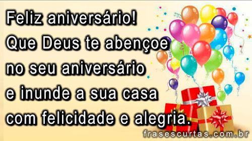 Parabéns pra Você - Mensagens de Feliz Aniversário