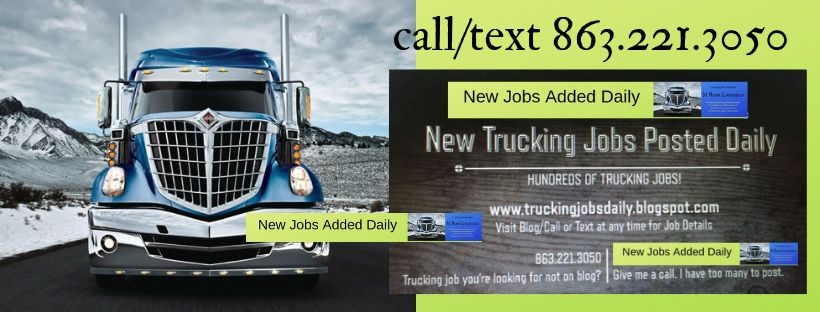 Trucking Jobs Daily