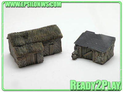 EPS-ZUL02 - Zulu War farm buildings (x2)