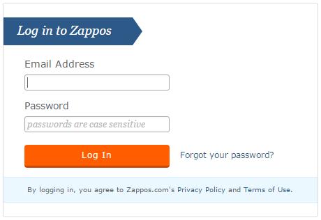 Zappos VIP Login