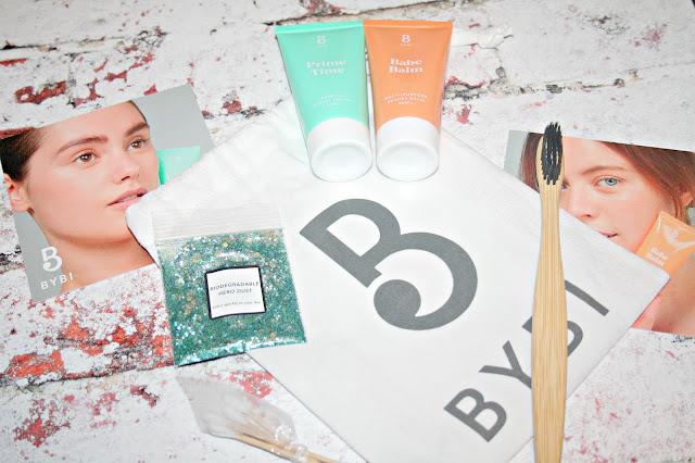BYBI Babe Balm and Prime Time Facial Polish