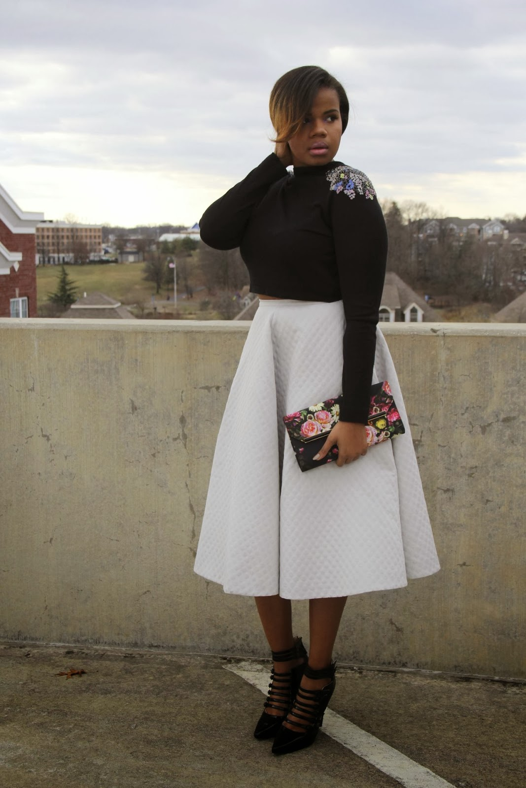 Via Black Girls Killing It: All About Fashion: Ideas For Crop Top/Skirt